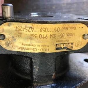 Pompa hydrauliczna JD 3400